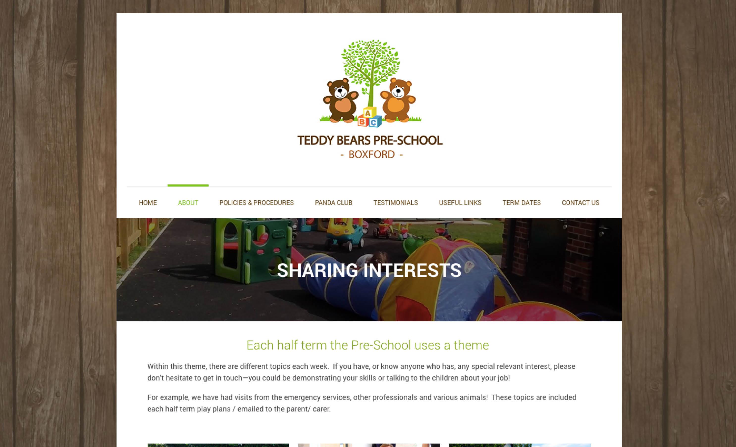 teddybears-websitedesign