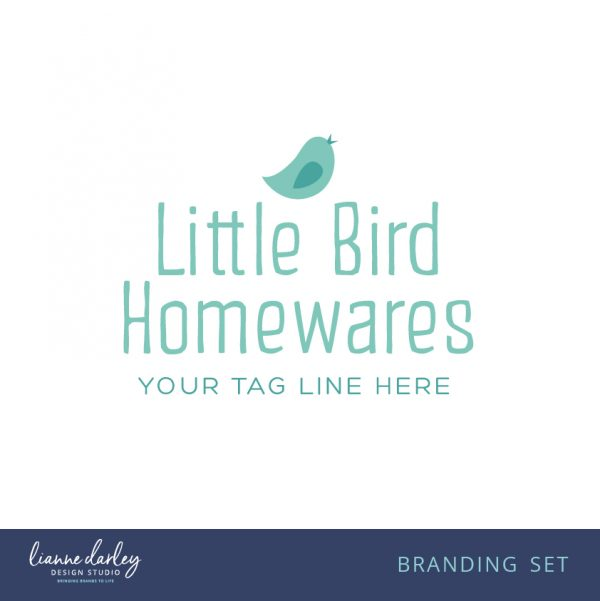 Bird Logo Branding Set - Pre-made logo