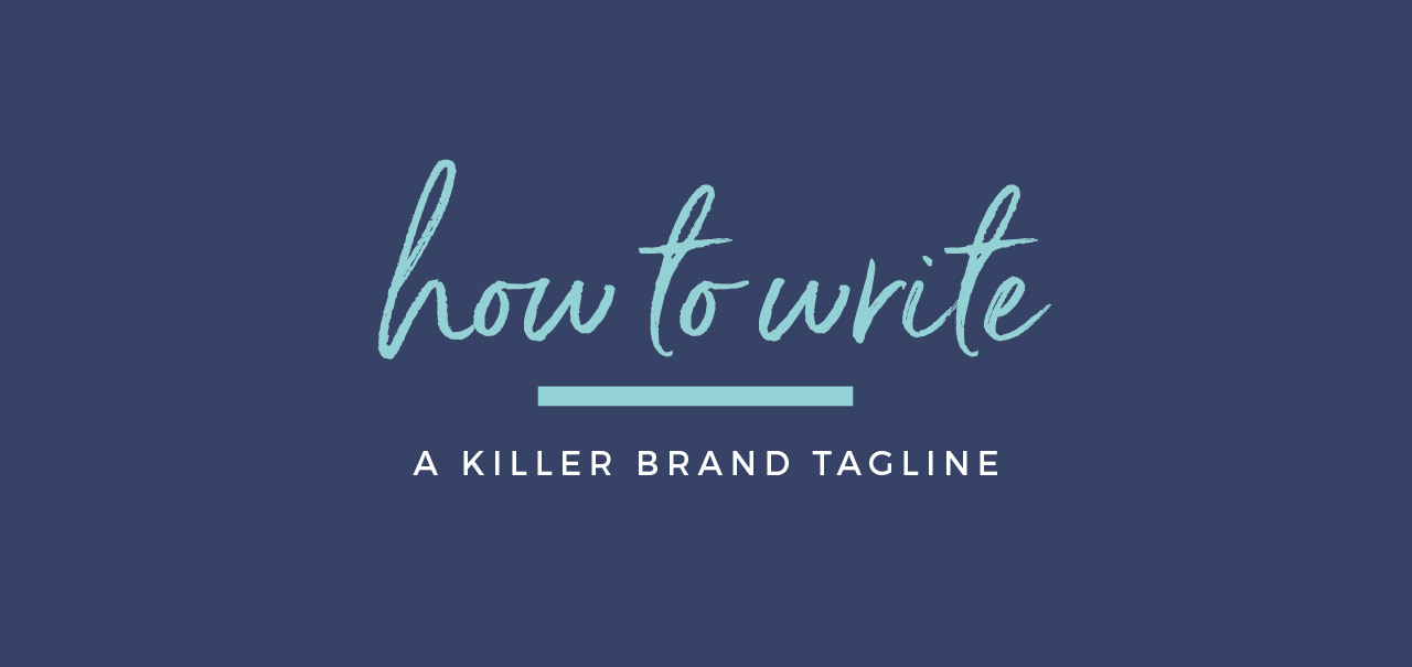 How to write a brand tagline